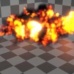 Eeveeで爆発とかスモークとか